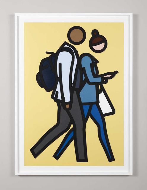 Julian Opie, 'New York Couples (Complete Set)', 2019, Gormleys Fine Art