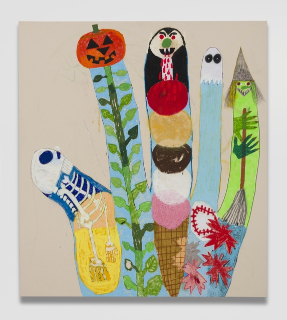 , 'Halloween Finger Family,' 2018, Ever Gold [Projects]