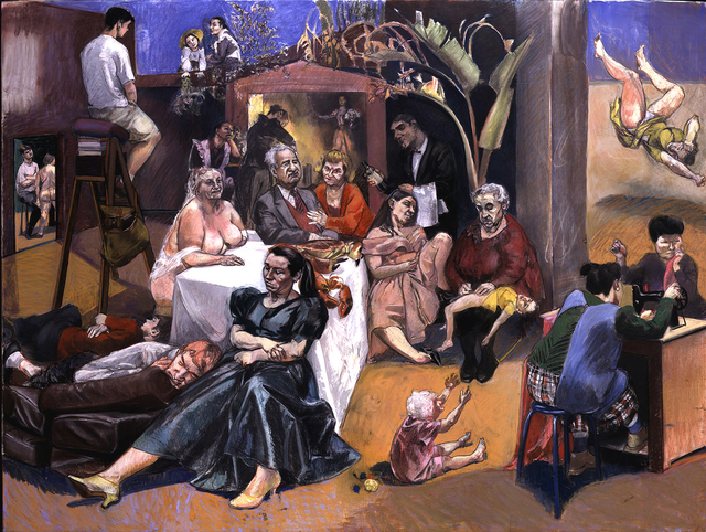Paula Rego, 'Celestina's House', 2000-2001, Marlborough Fine Art