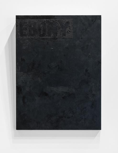Jeremy Okai Davis, 'Ebony', 2017, Elizabeth Leach Gallery