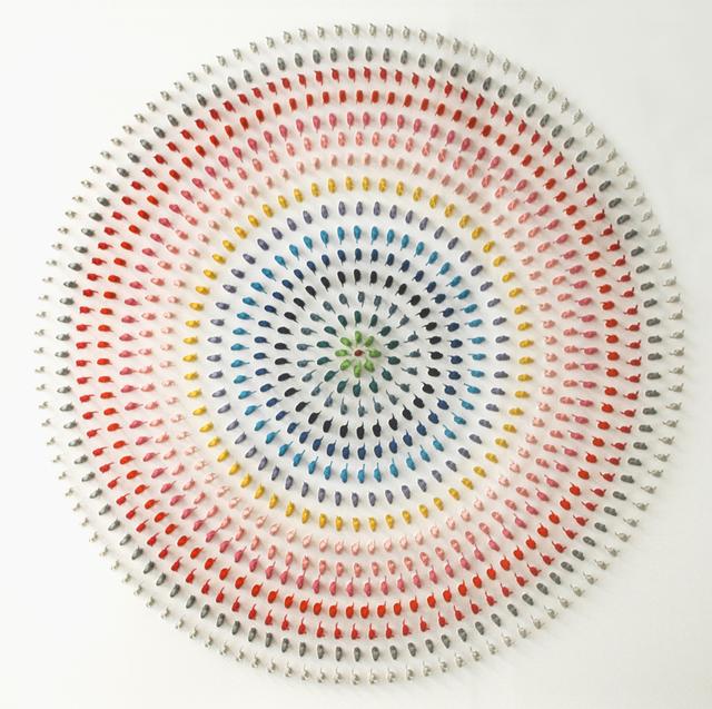 Paolo Ceribelli, 'White Target', 2019, Galerie Art Jingle