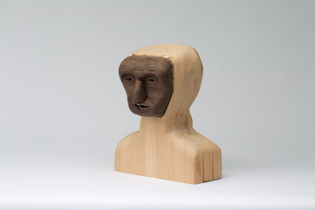 Matthew Dennison, 'Physiozomic', 2020, Sculpture, Cedar, African black wood, The Secret Gallery