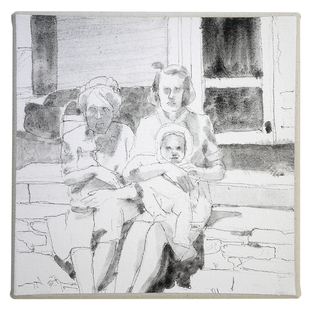 , 'Two Grannies,' 2014, Galleri Urbane