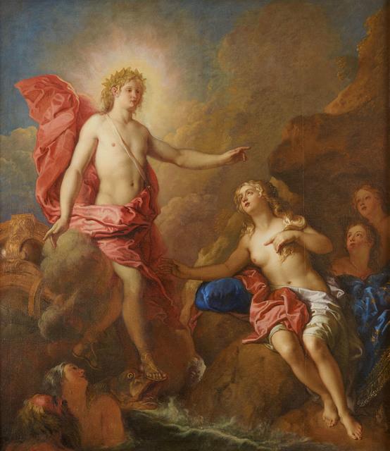 Charles de La Fosse, 'Apollon et Thétis (Apollo and Thetis)', 1688, Château de Versailles
