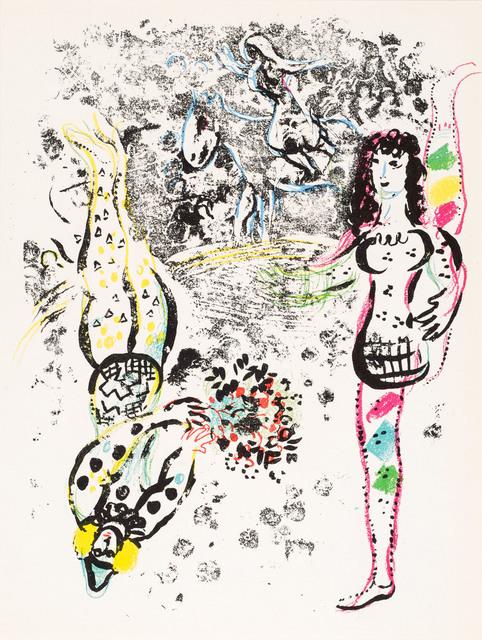 , 'Le Jeu des Acrobates (Acrobats at Play),' 1963, Galerie d'Orsay