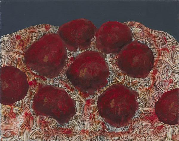 , 'Spaghetti and Meatballs,' 2016, Freight + Volume