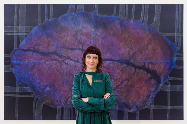 , 'artist portrait,' 2017, Collezione Maramotti