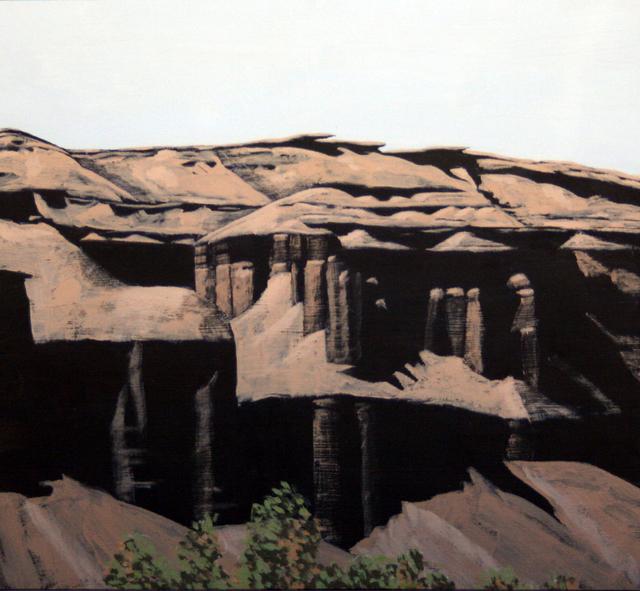 Mark Knudsen, 'Desert Cliff (detail)', 2018, Phillips Gallery