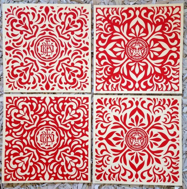 Shepard Fairey (OBEY), 'Japanese Fabric Pattern', 2009, artrepublic