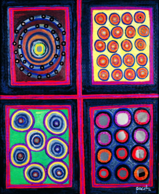 , 'Rajasthan quartet,' 2000, Pacita Abad Art Estate