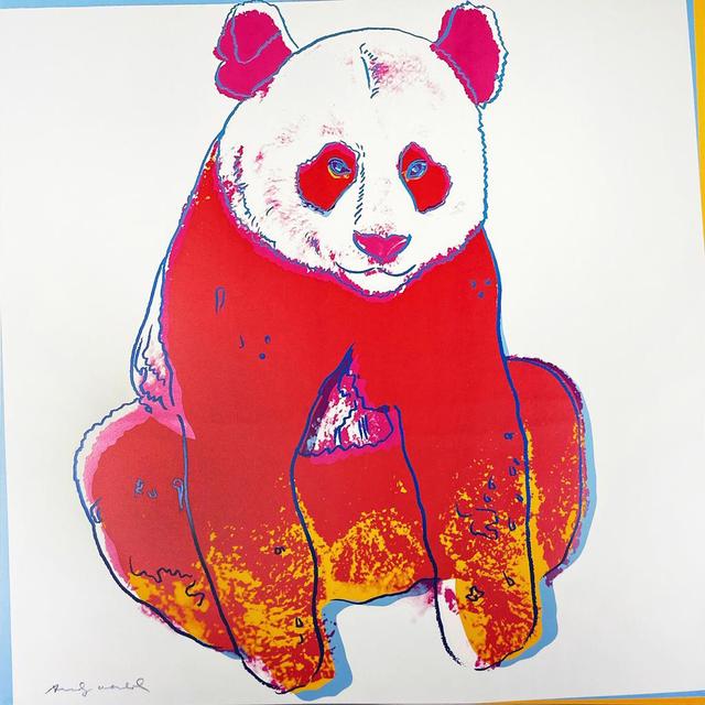 Andy Warhol, 'Endangered Species: Giant Panda II.295', 1983, Hamilton-Selway Fine Art