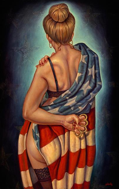 , 'American Girl,' 2018, Maxwell Alexander Gallery