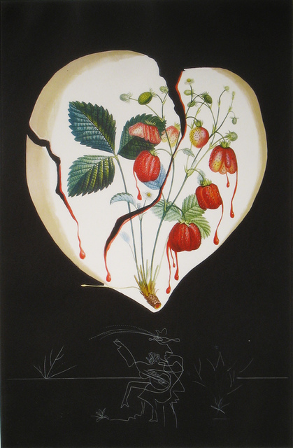 Salvador Dalí, 'Strawberries (Coeur de Fraises)', 1970, DTR Modern Galleries