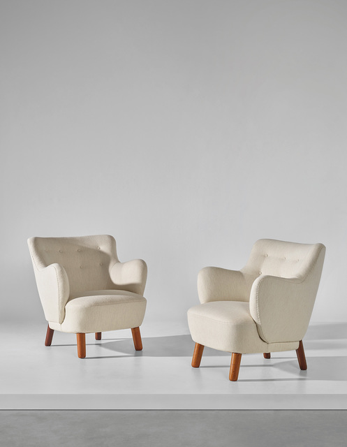 Edvard and Tove Kindt-Larsen, 'Pair of armchairs', 1938, Phillips