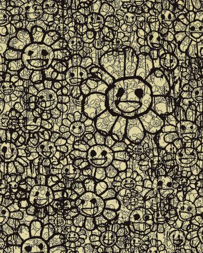 , 'FLOWERS C BEIGE BY MADSKI X TAKASHI MURAKAMI ,' , Marcel Katz Art