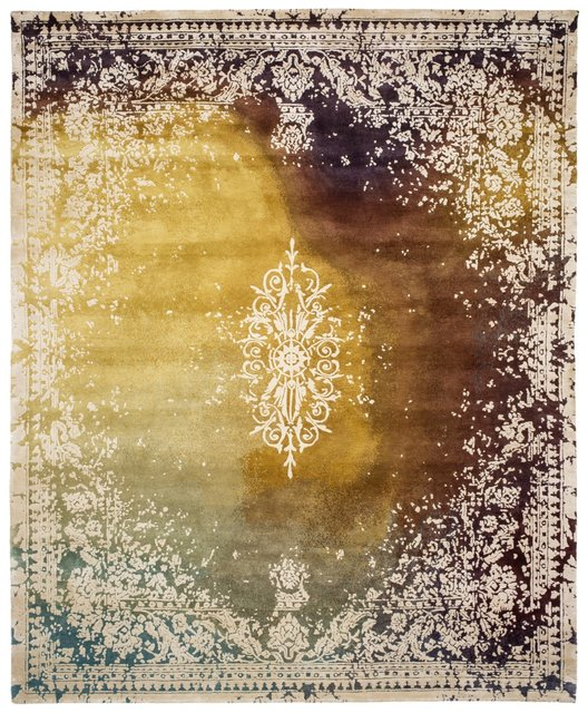 Jan Kath, 'Vico Angaa Special Rocked rug', 2018, Design/Decorative Art, Silk and Wool, Galerie SORS
