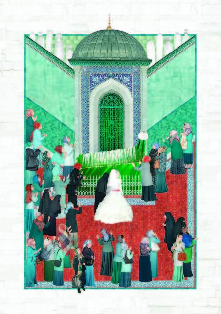, 'Votive,' 2015, C.A.M Galeri