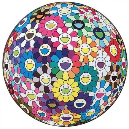 Takashi Murakami, 'Flower Ball: Multicolor', 2015, Vogtle Contemporary