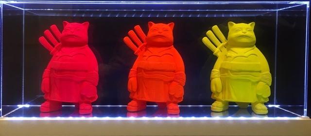 , '(GVA) Trilogy Samurai Cats,' 2015, ARTION GALLERIES