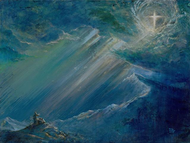 , 'Abraham & Isaac - The Lord will Provide 亞伯拉罕予以撒-神必預備,' 2017, Artrue Gallery