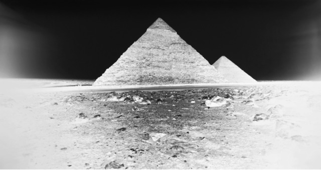 , 'Chephren and Cheops Pyramids, Giza: April 12, 2010,' , Gagosian