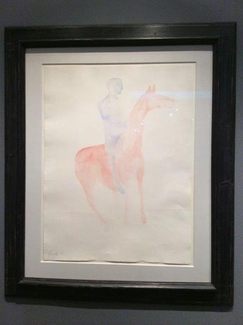 , 'Untitled (Man on Horse),' 1978, Christopher Kingzett Fine Art