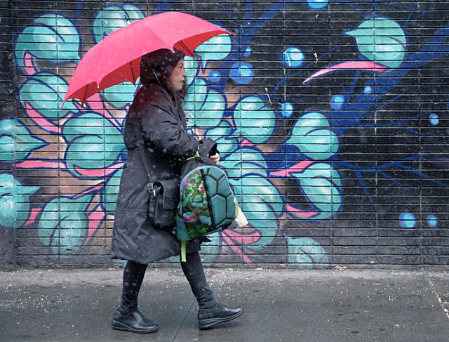 , 'Pink Umbrella, Eldridge Street,' , Soho Photo Gallery