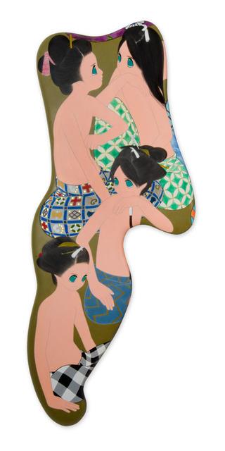 , 'tsuki wa kakureru (9),' 2011-2012, 10 Chancery Lane Gallery