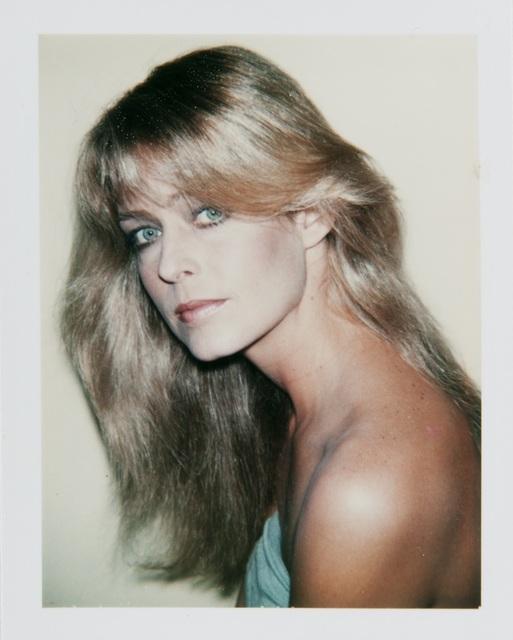 , 'Andy Warhol, Polaroid Portrait of Farrah Fawcett,' 1979, Hedges Projects