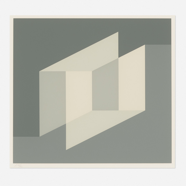 Josef Albers, 'Never Before A (from the Never Before portfolio)', 1975, Wright