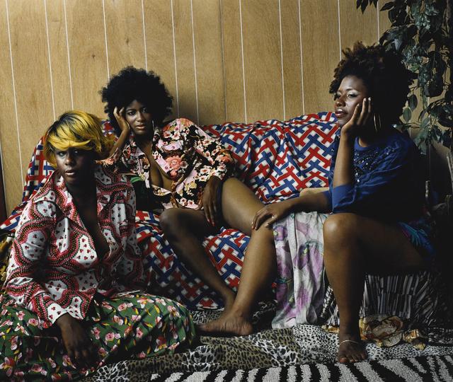 , 'Les Trois Femmes Noires,' 2006, Bill Hodges Gallery