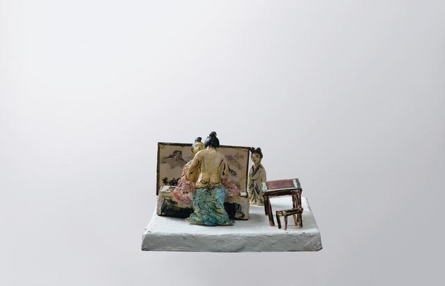 , '中国雕塑的学习 No. 3 Chinese sculpture study No. 3,' 2016, Matthew Liu Fine Arts