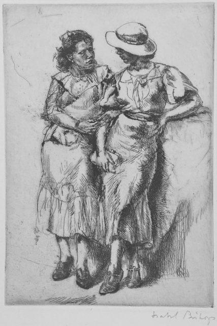 Isabel Bishop, 'Noon Hour', 1935, Catherine E. Burns Fine Prints
