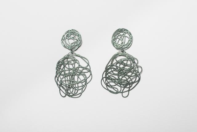 , 'Earrings,' 2017, Gallery Loupe