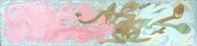 , 'Unititled (Pink Squid, Green Aliens),' , Madrona Gallery