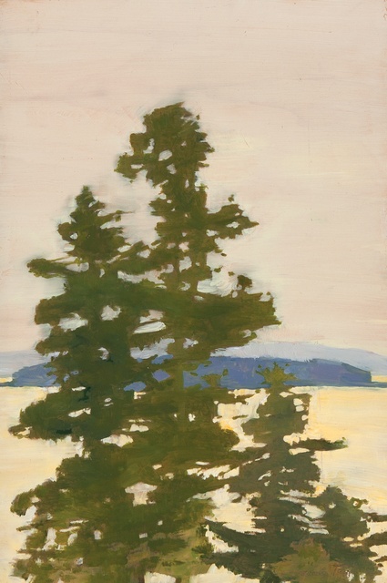 , 'Golden Light on Penobscot Bay,' , Dowling Walsh