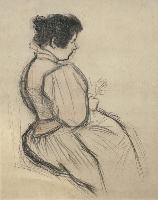 , 'Dama con flor,' , Galería de las Misiones