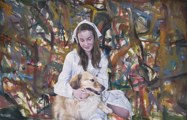 , 'Oist Children Portrait (Girl & Dog) ,' 2011, Metro Pictures