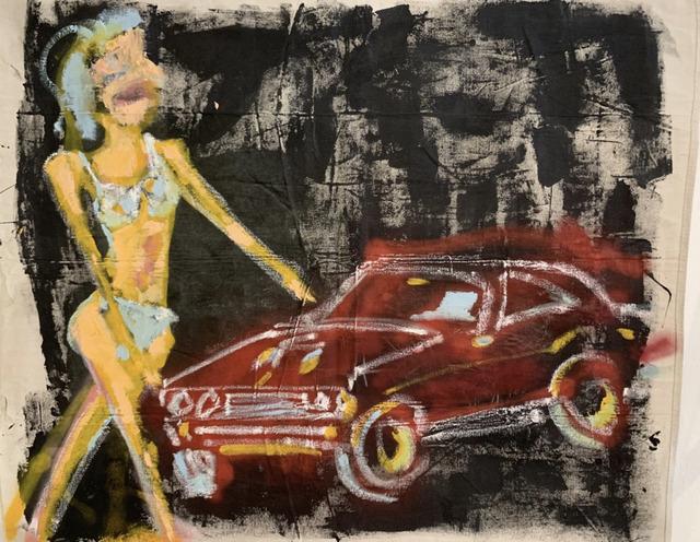 Alison Mosshart, 'MUSCLE WOMAN MODEL CAR', 2018, FF-1051 Gallery