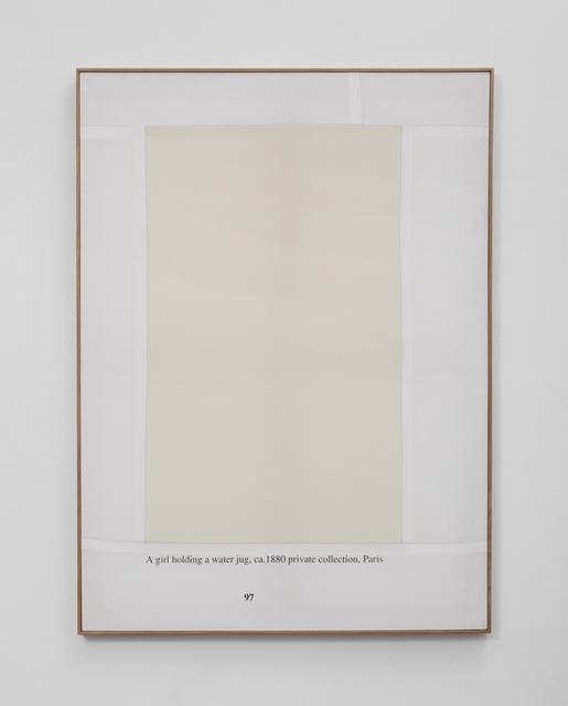 , 'Untitled (A girl with a Jug),' 2018, Mirav Katri