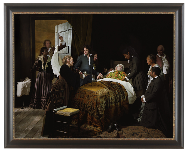 , 'Fake Death Picture (The Death of Leonardo Da Vinci in the Arms of Francois-Guillaume Menageot),' 2011, Goodman Gallery