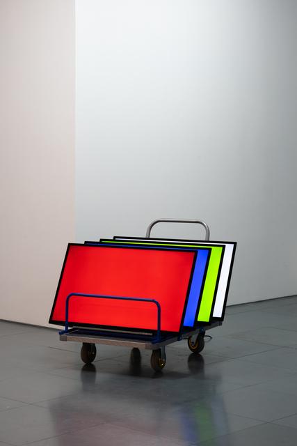 Tao Hui 陶輝, 'Screen as Display Body 屏幕作為展示主體', 2019, Edouard Malingue Gallery