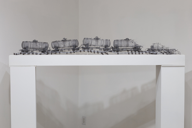 , 'Convoy,' 2017, Art Mûr
