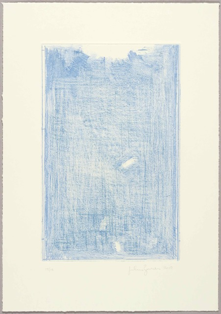 John Zurier, 'October 4 (Blue)', 2017, Niels Borch Jensen Gallery and Editions