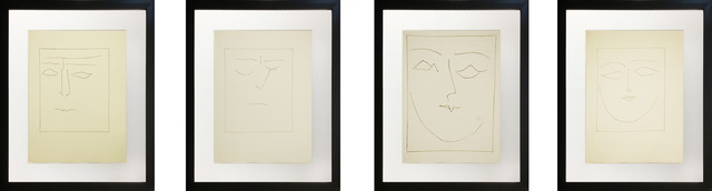 Pablo Picasso, 'Untitled (Four-Piece Set)', 1949, Reproduction, Etching on Arches paper, Baterbys