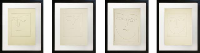 Pablo Picasso, 'Untitled (Four-Piece Set)', 1949, Baterbys