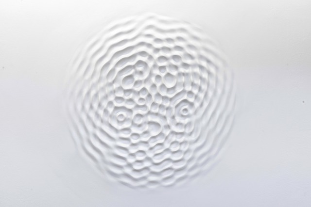 , 'Wallvave vibration (ears particle tingles),' 2012, Leila Heller Gallery