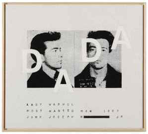 ", 'Andy Warhol, ""Most Wanted Man No. 11, John Joseph H."", 1963,' 2002, Collectors Contemporary"