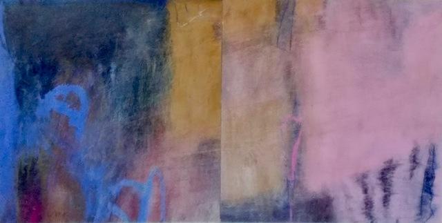 , 'Enigma: Pink, Ochre, Blue,' 2017, Miller White Fine Arts