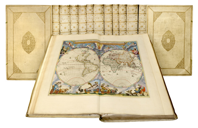 Johannes Blaeu, 'Le Grand Atlas, ou Cosmographie blaviane, en laquelle est exactement descritte la terre, la mer, et le ciel.', 1663, Daniel Crouch Rare Books